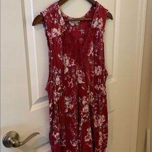 Lucky Brand floral tank 3X